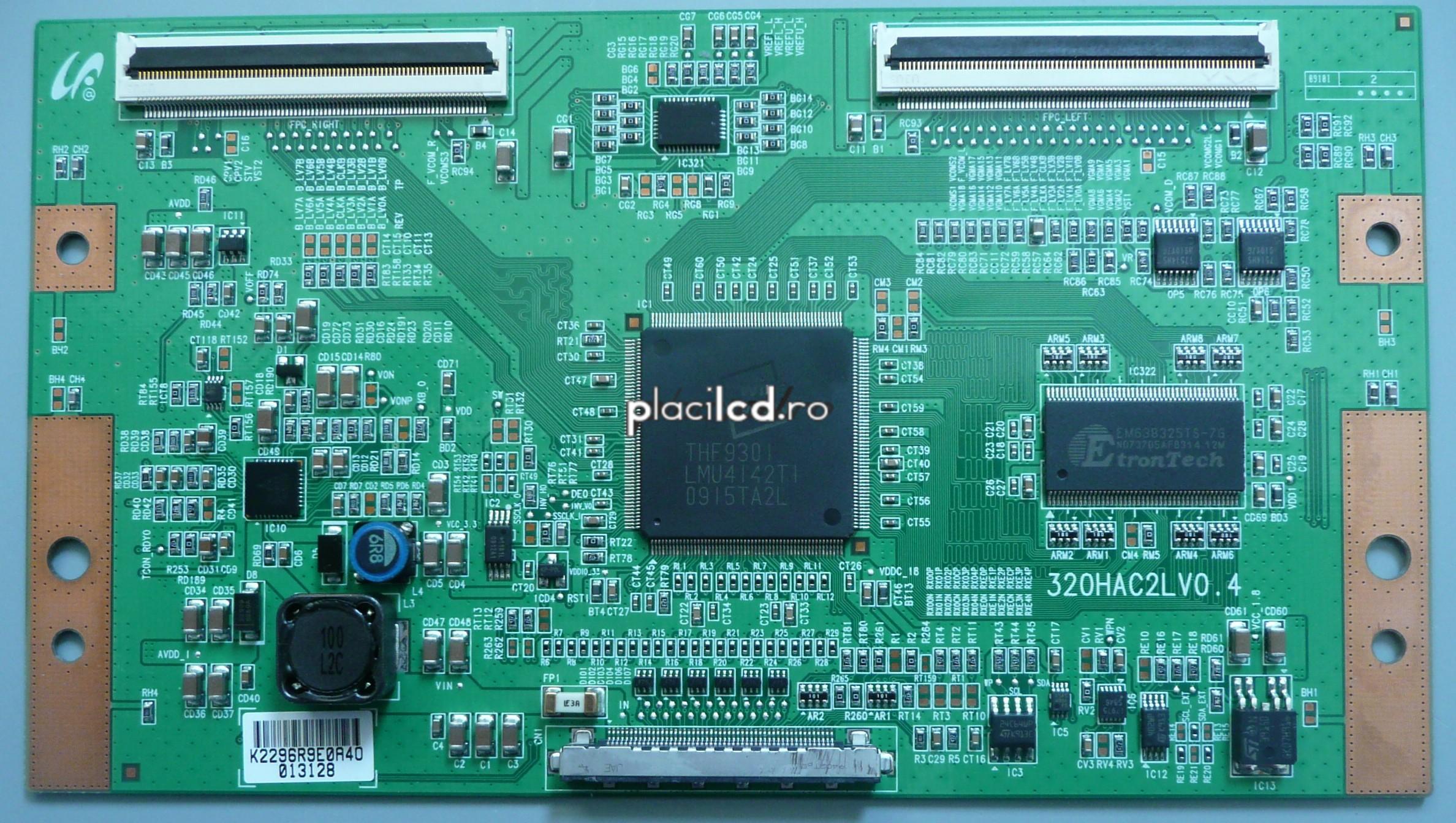 Placa LVDS 320HAC2LV0.4