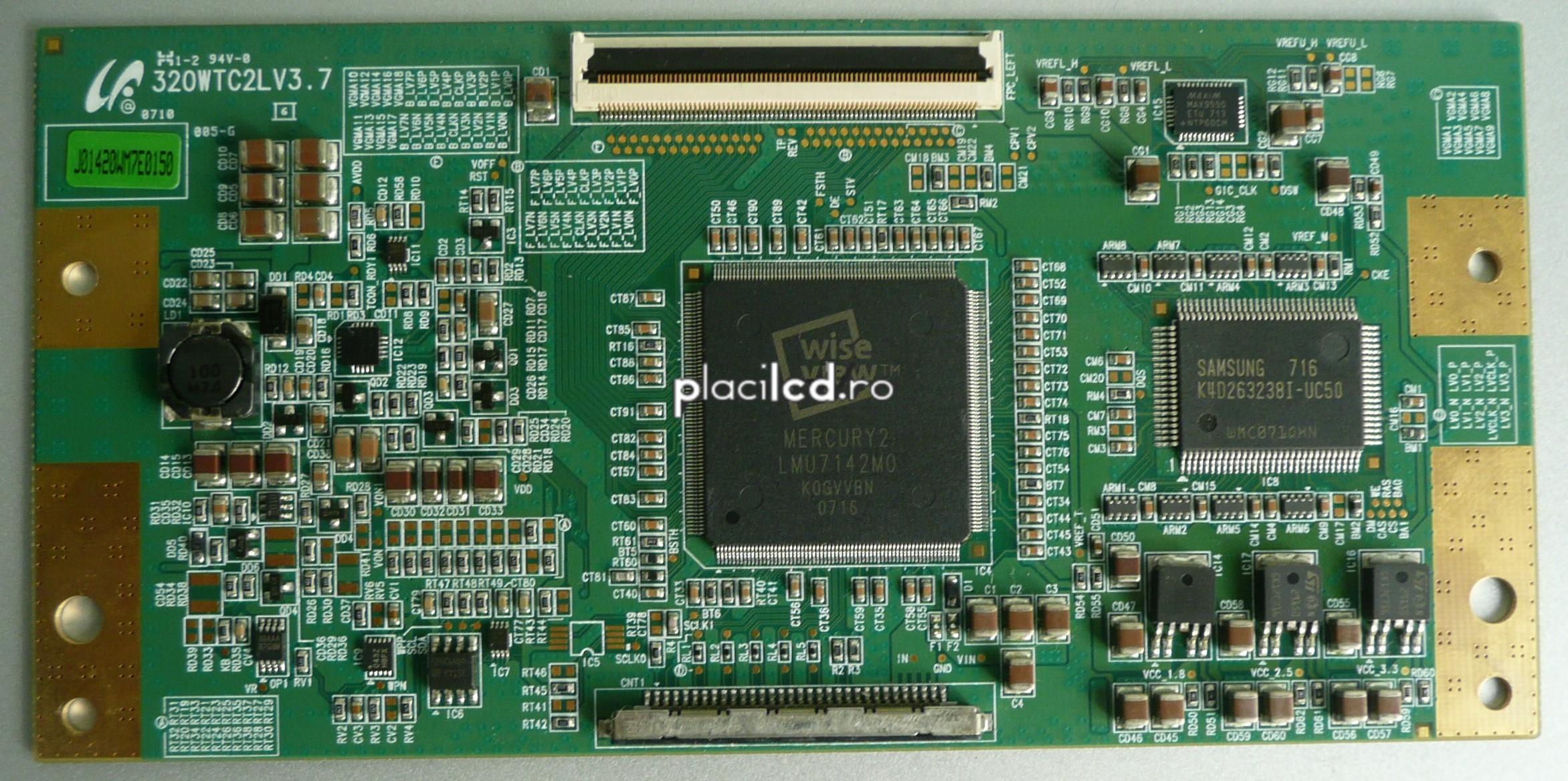 Placa LVDS 320WTC2LV3.7