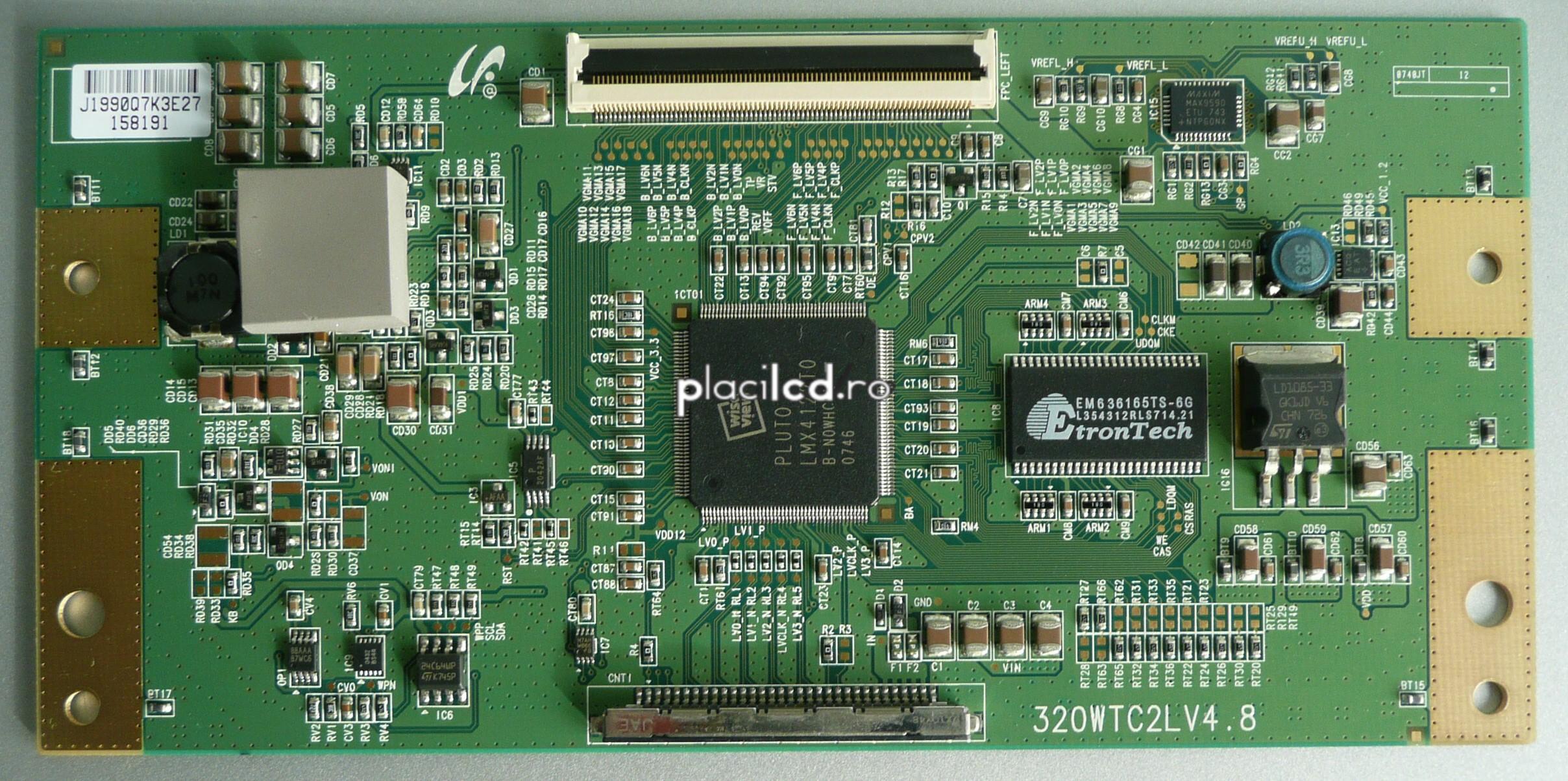 Placa LVDS 320WTC2LV4.8