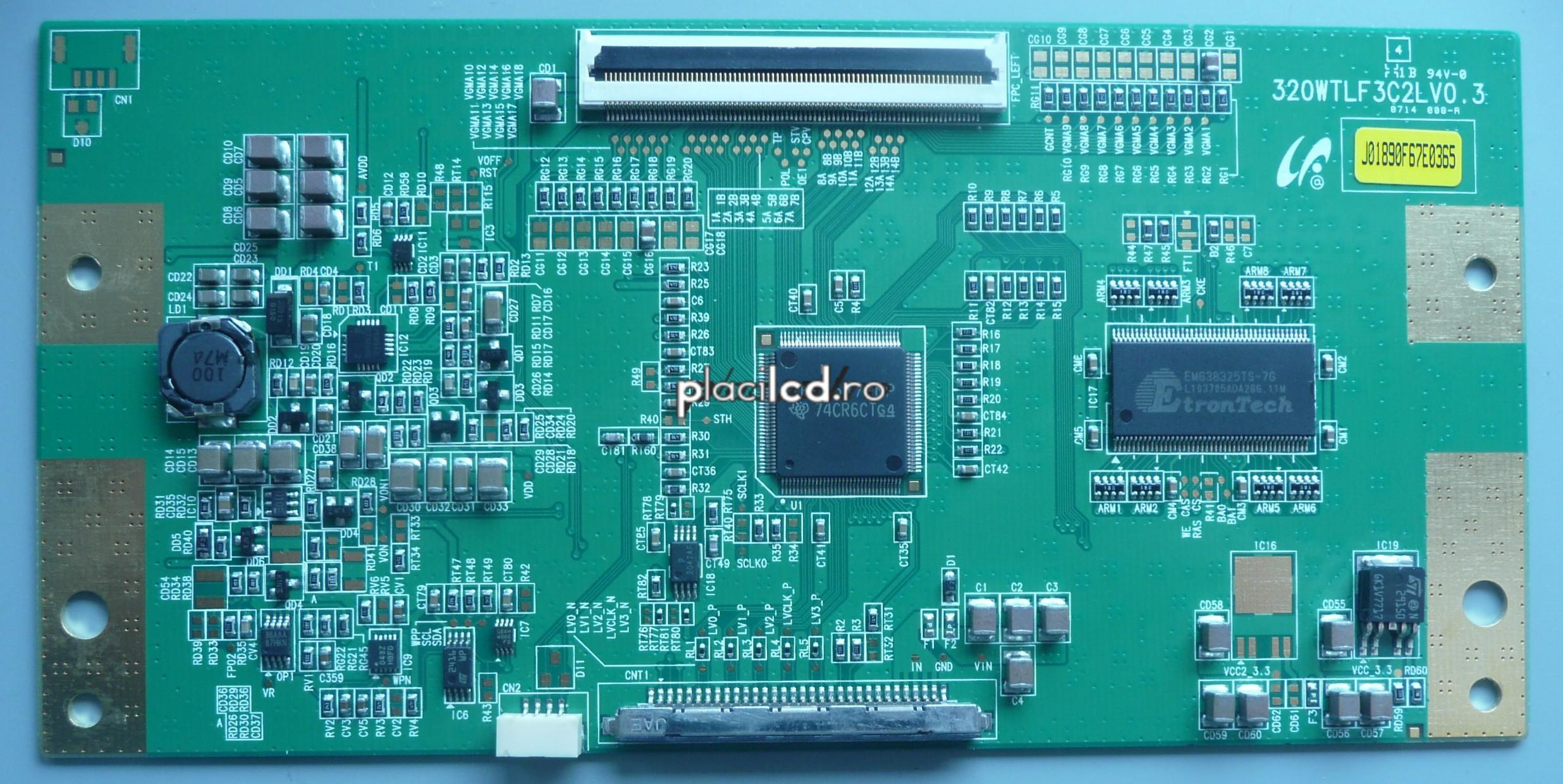 Placa LVDS 320WTLF3C2LV0.3