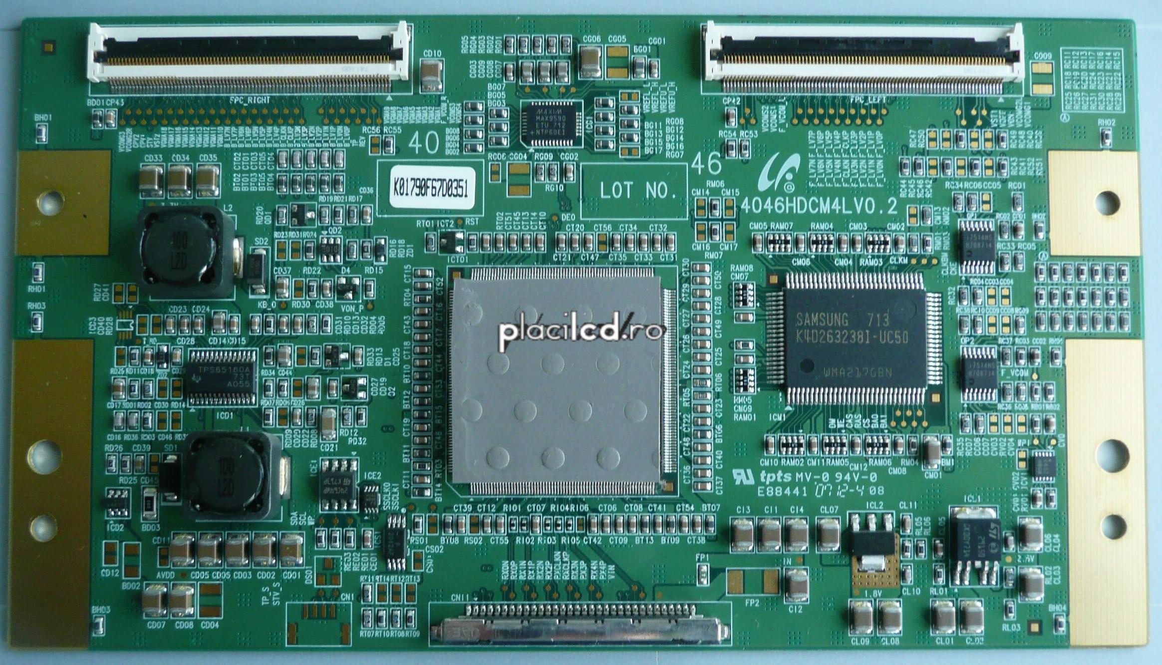 Placa LVDS 4046HDCM4LV0.2