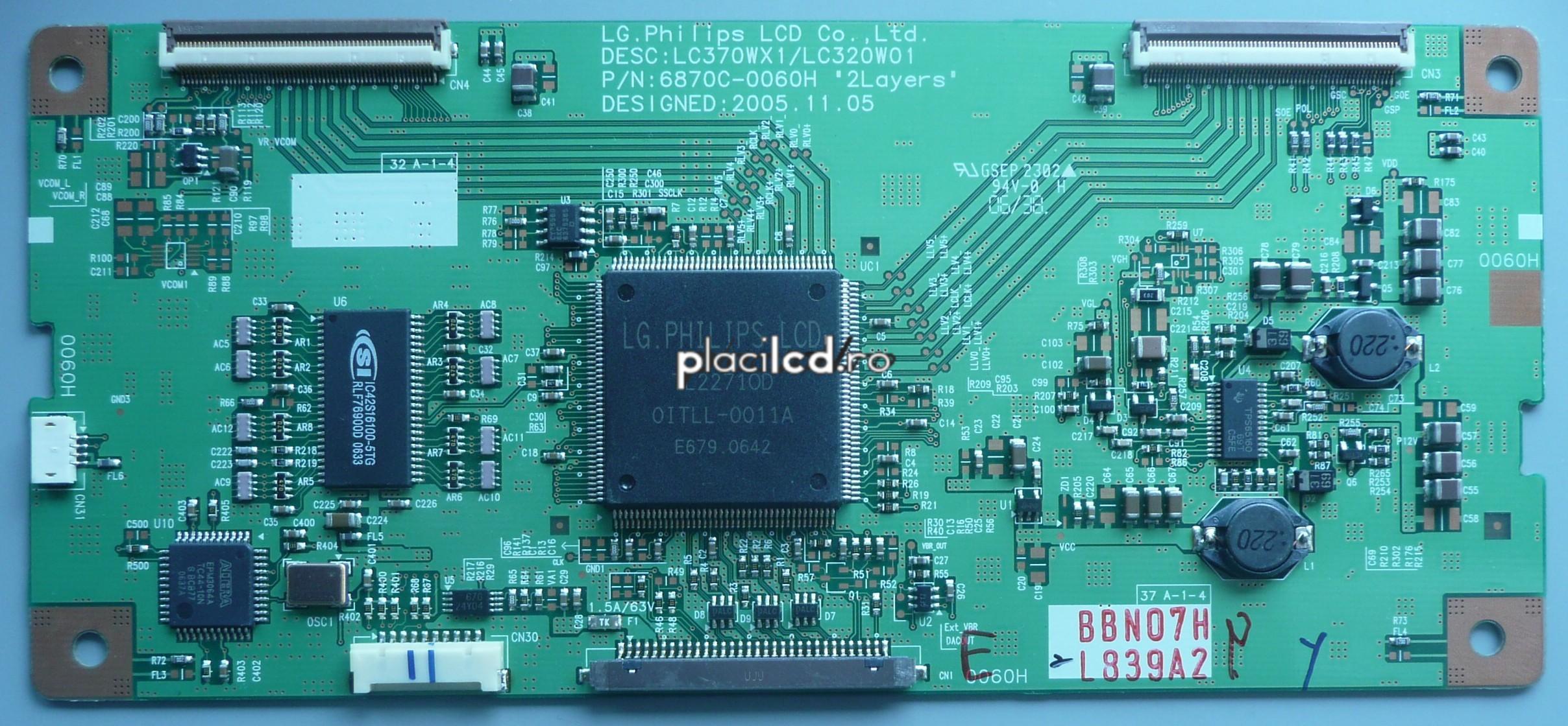 Placa LVDS 6870C-0060H