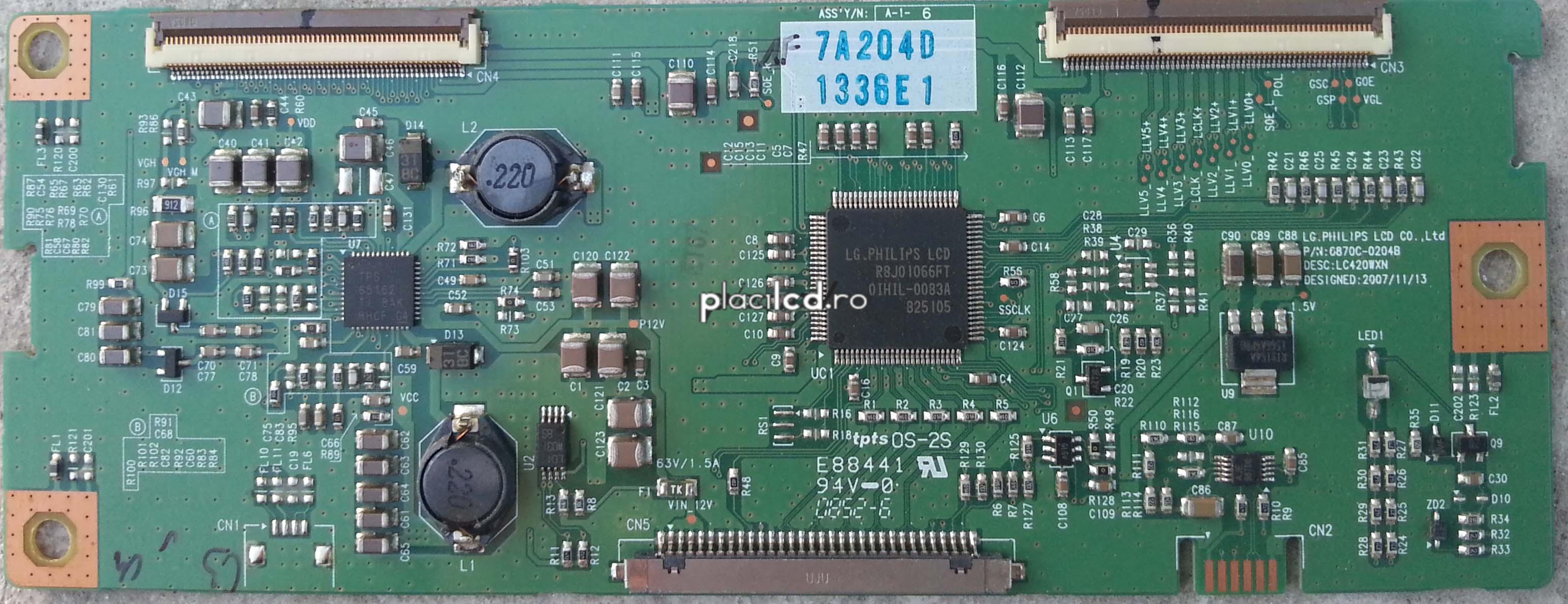 placa LVDS 6870C-0204B