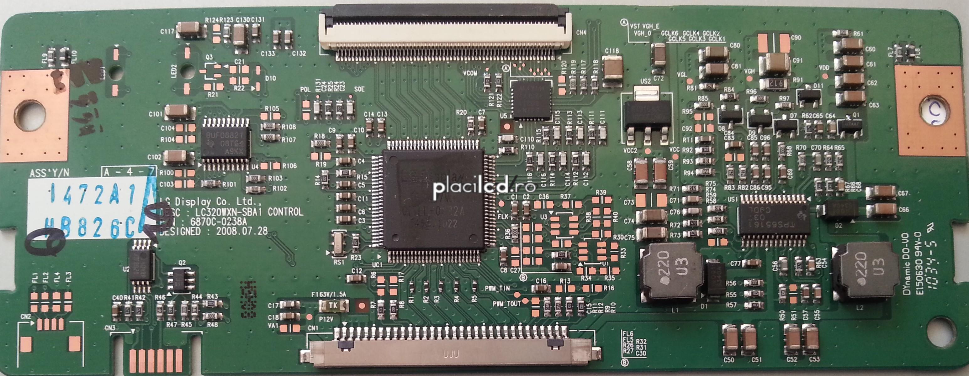 Placa LVDS 6870C-0238A