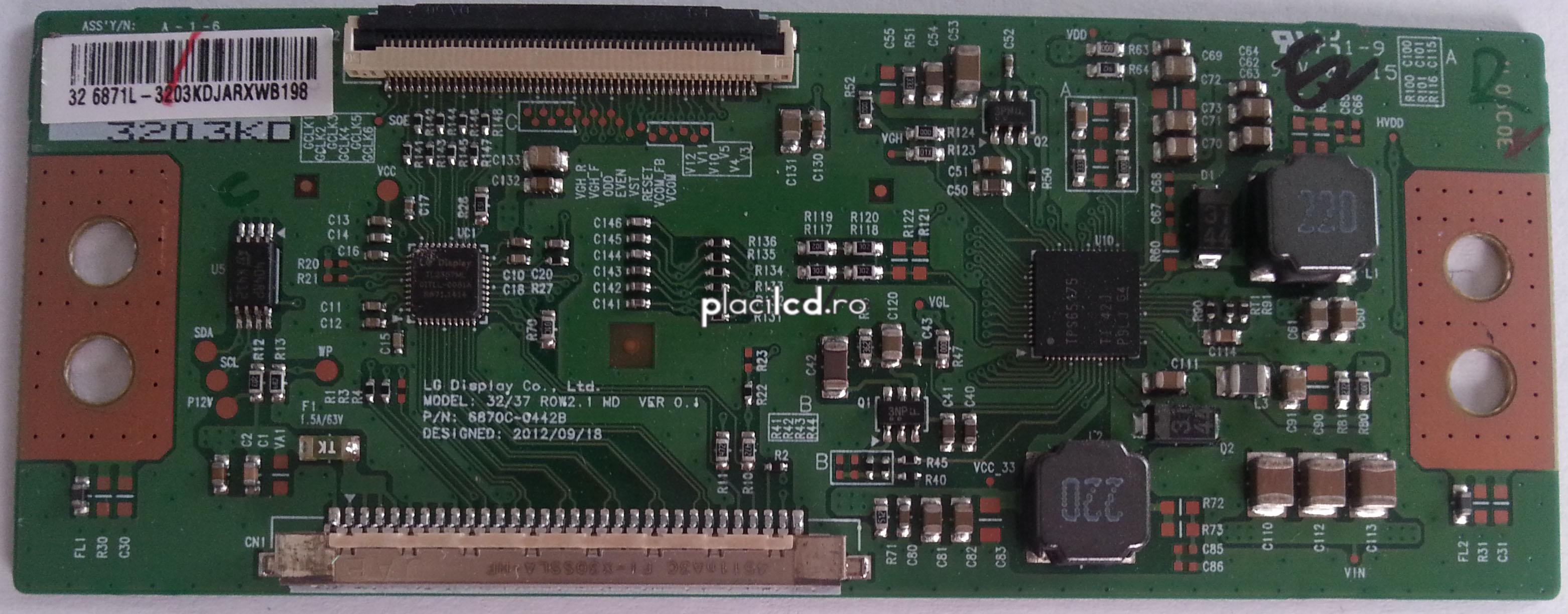 Placa LVDS 6870C-0442B