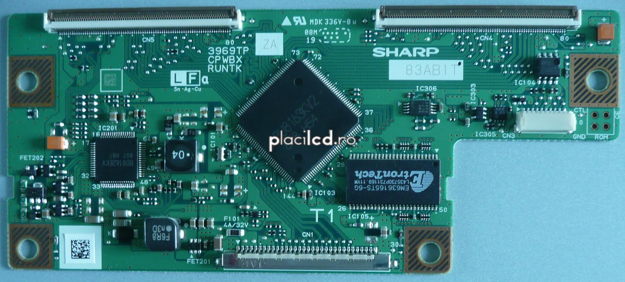 Placa LVDS CPWBX3969TPZA