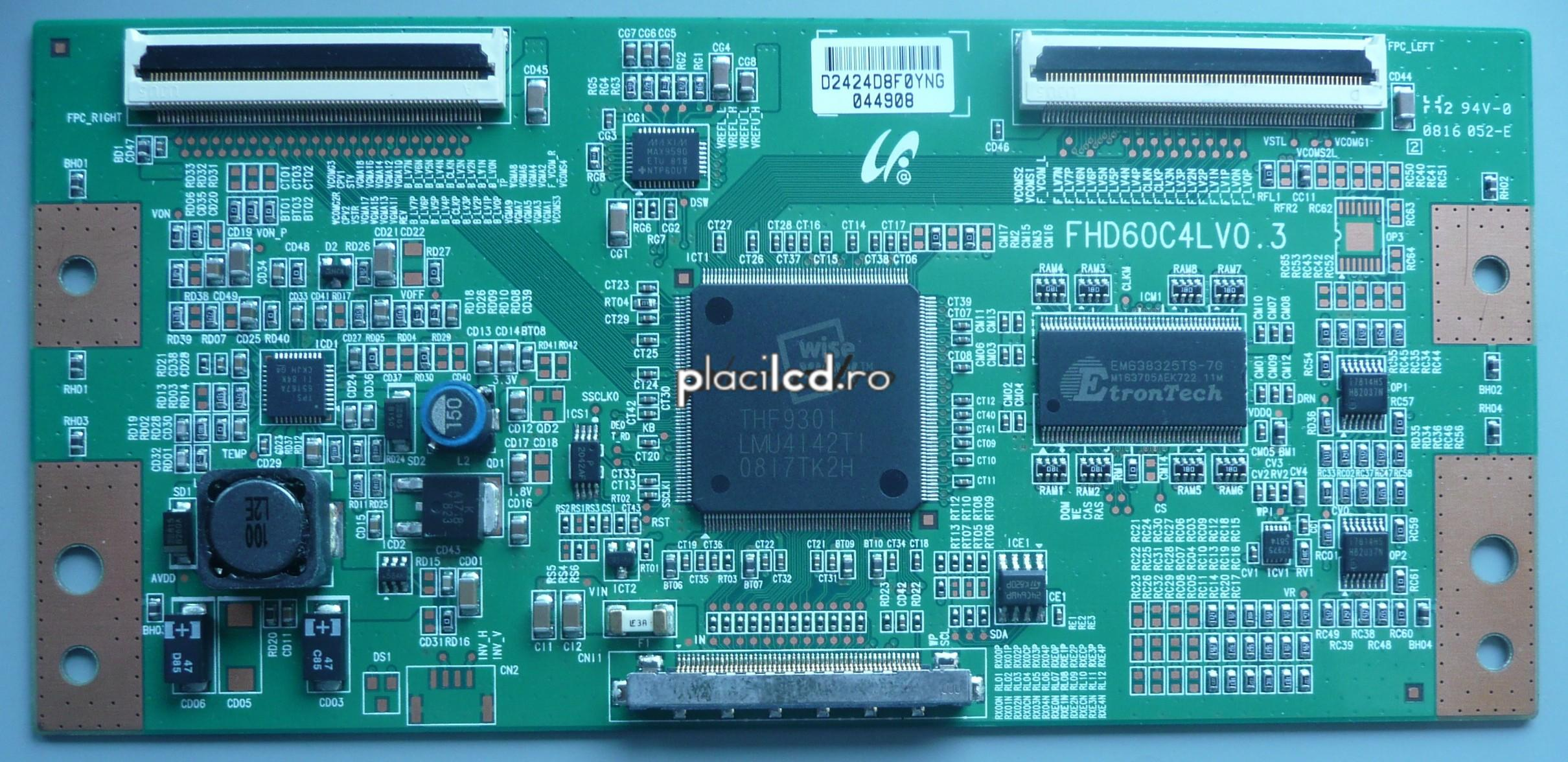 Placa LVDS FHD60C4LV0.3