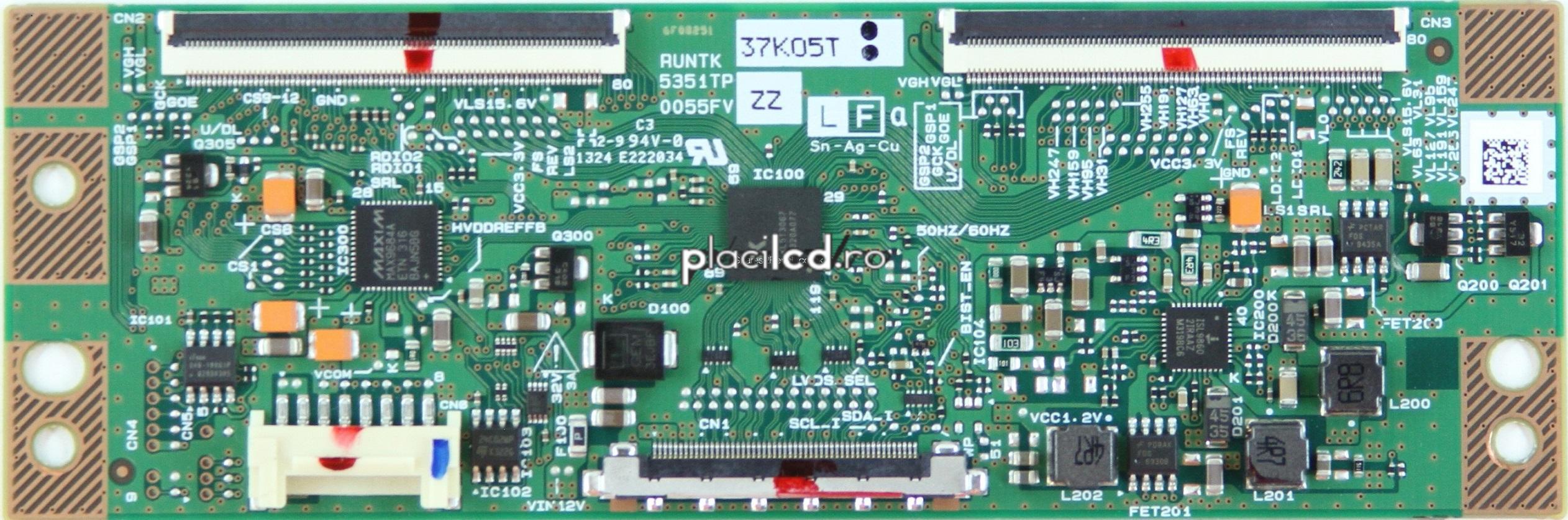 Placa LVDS model RUNTK5351TP