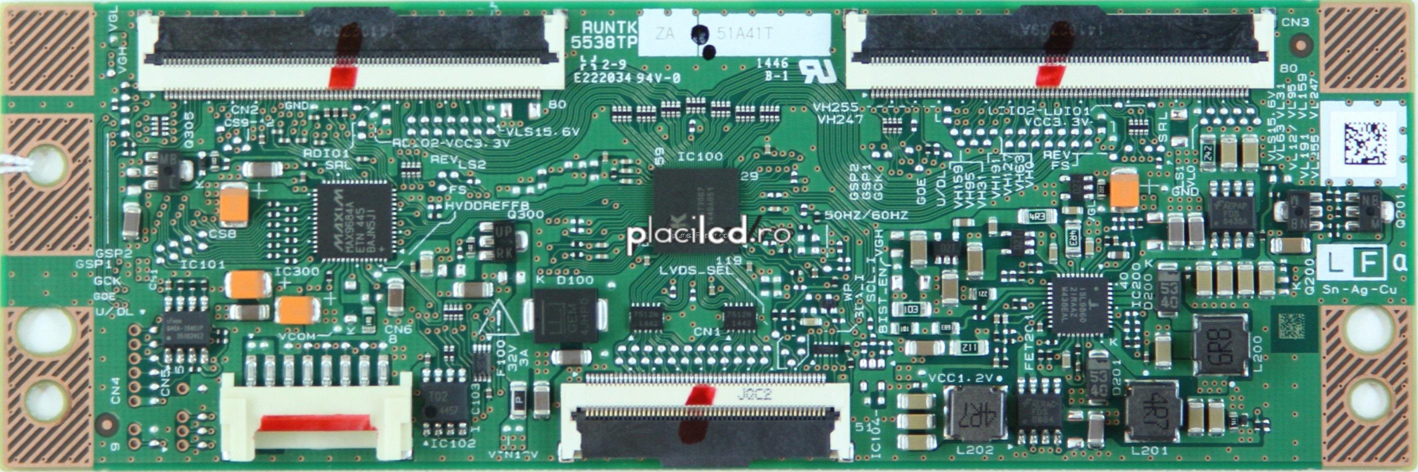 Placa LVDS model RUNTK5538TP