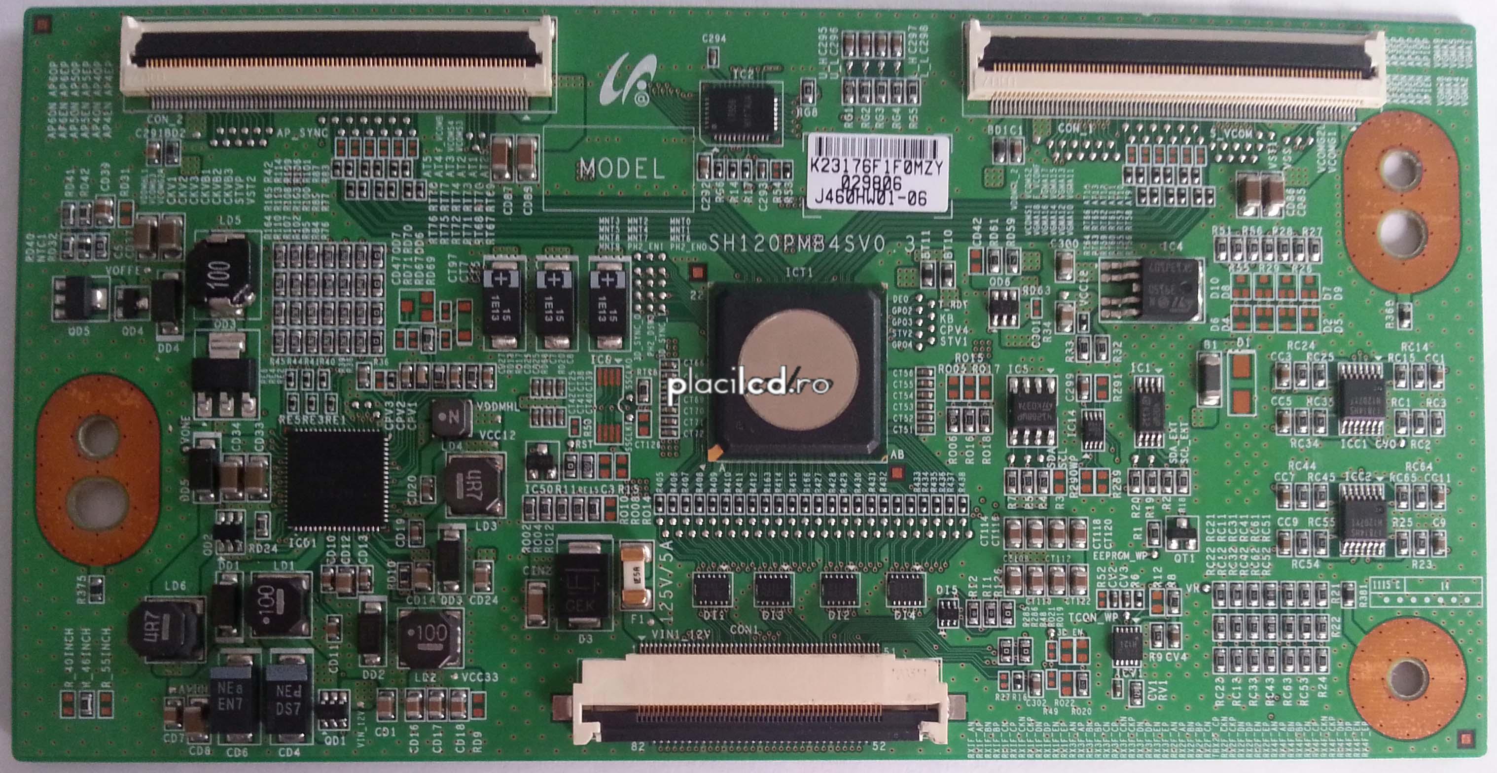 Placa LVDS SH120PMB4SV0.3