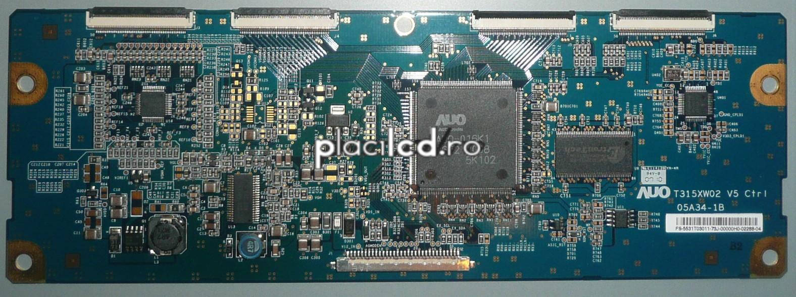 Placa LVDS T315XW02 V.5 (05A34-1B)