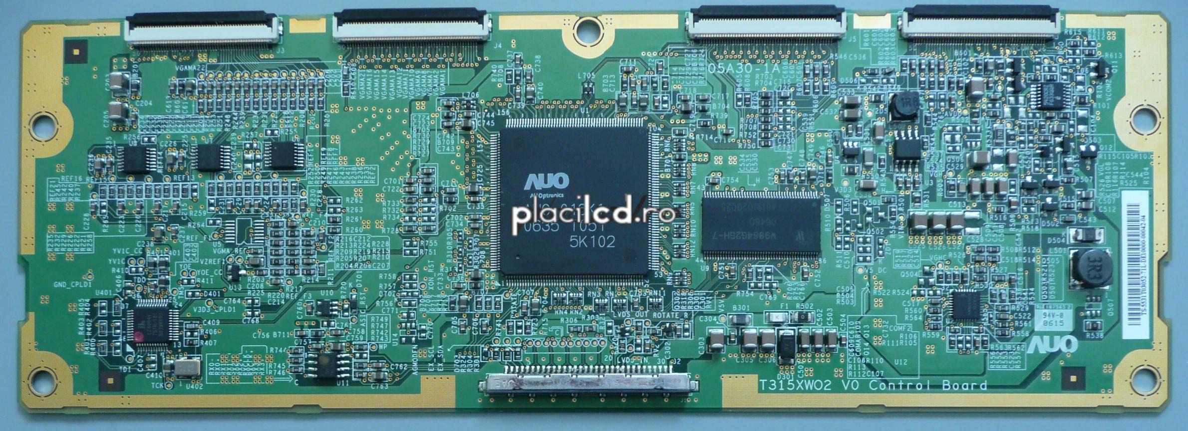 Placa LVDS T315XW02 V0 (05A30-1A)