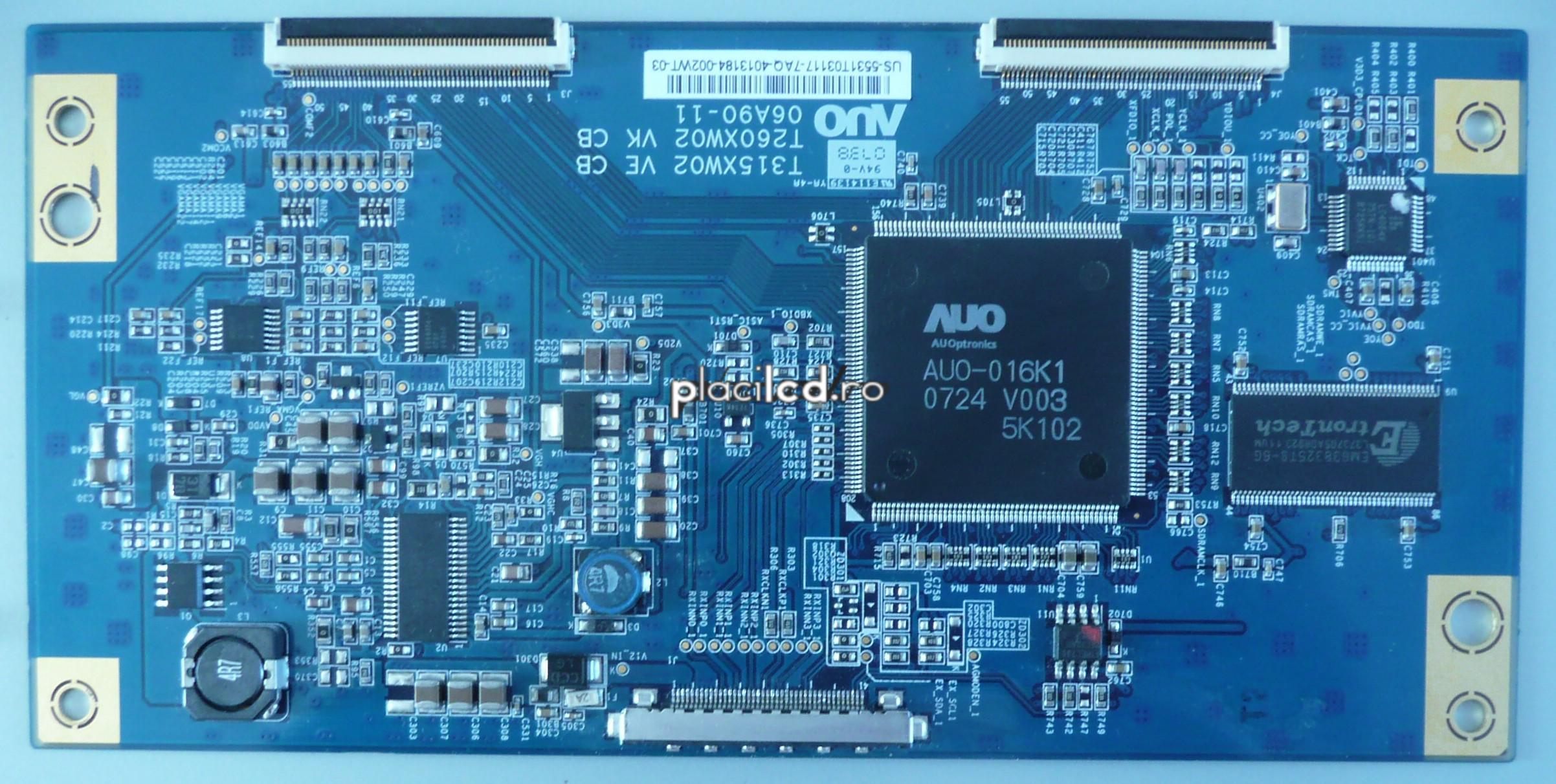 Placa LVDS T315XW02 VE (06A90-11)
