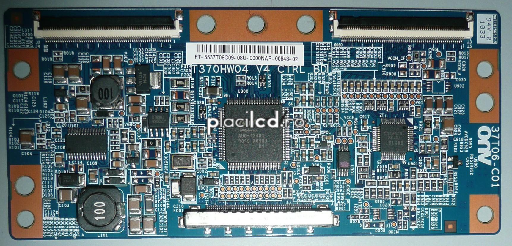 Placa LVDS T370HW04 V4 (37T06-C01)