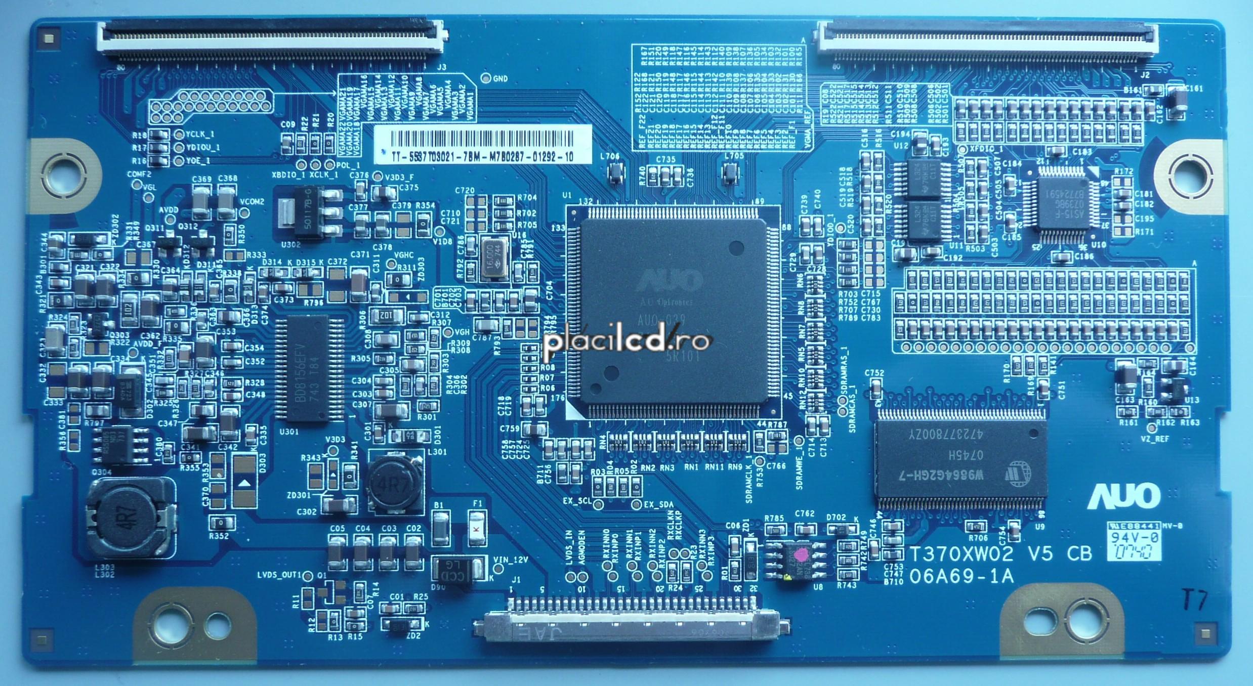 Placa LVDS T370XW02 V5 (06A69-1A)