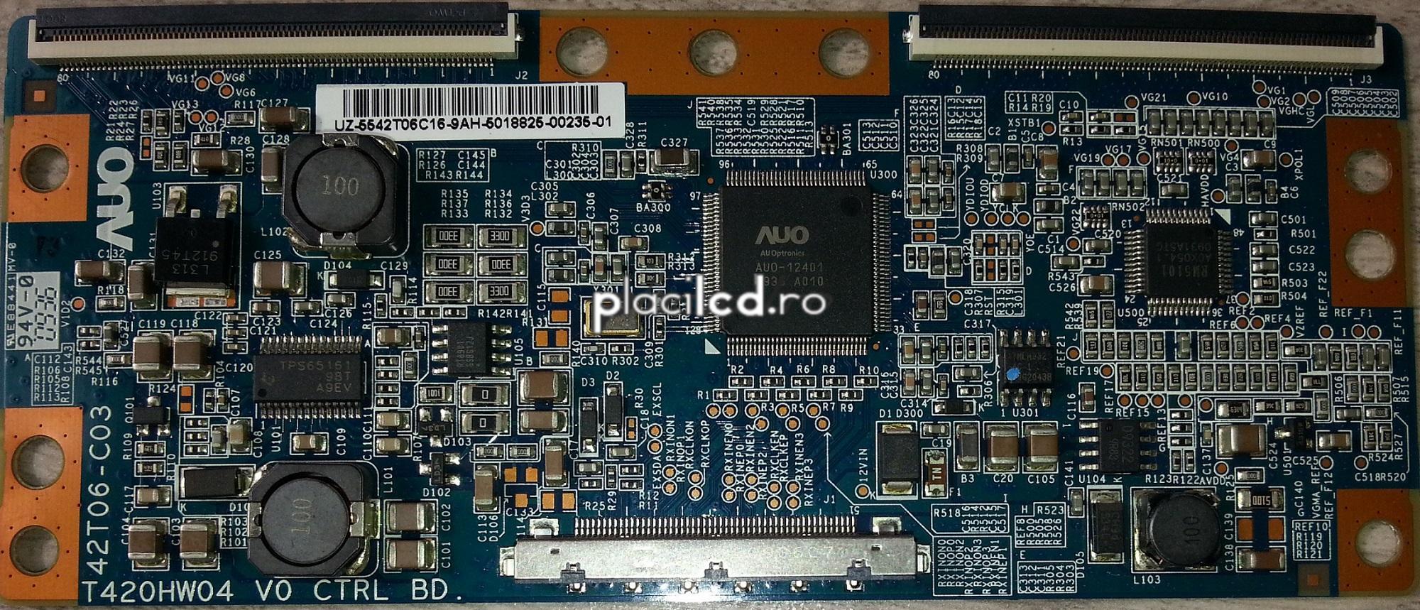 Placa LVDS T420HW04 V0 (42T06-C03)