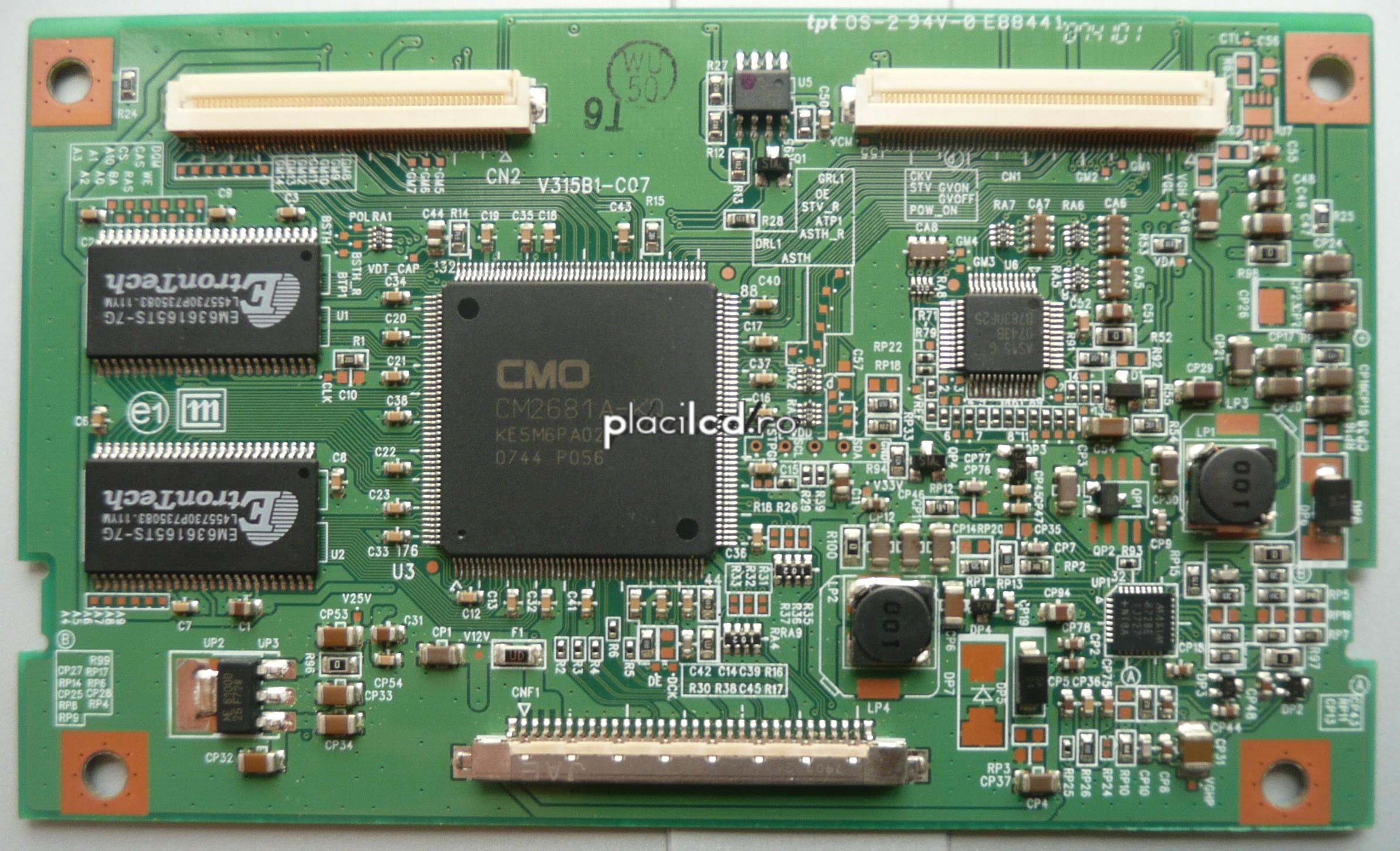 Placa LVDS V315B1-C07