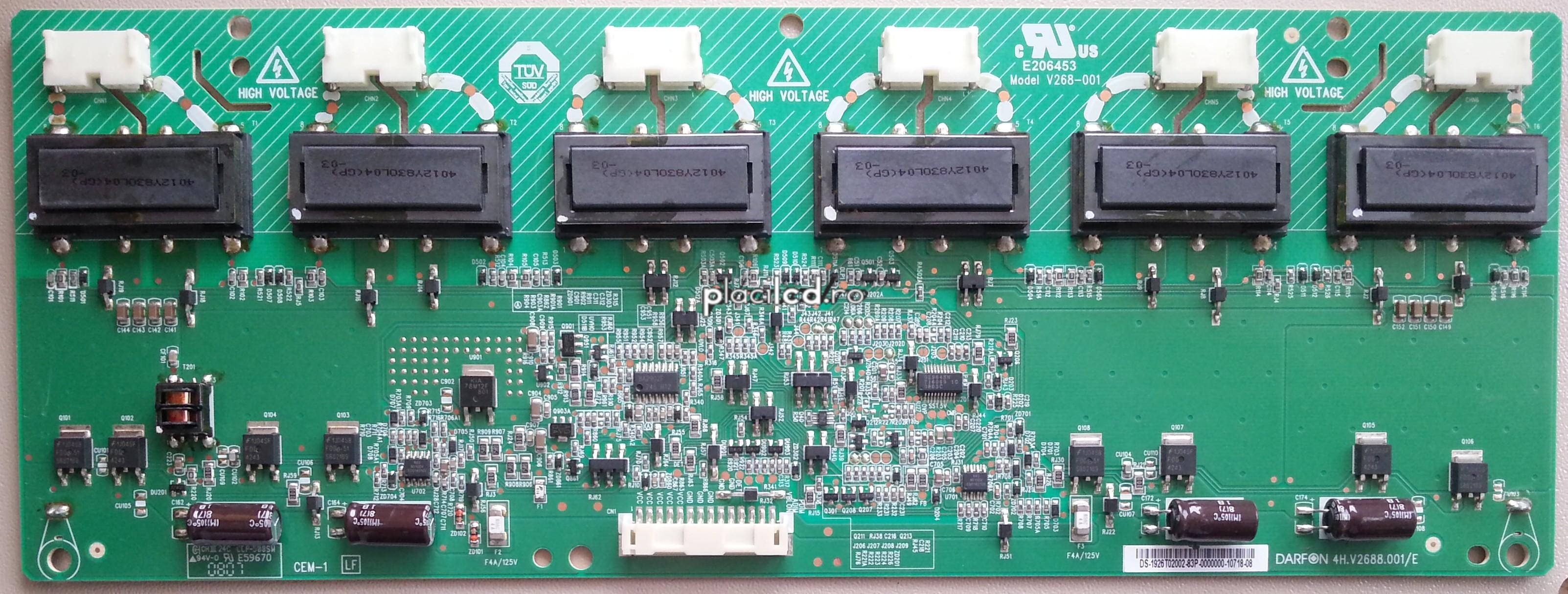 Placa invertoare 4H.V2688.001/E
