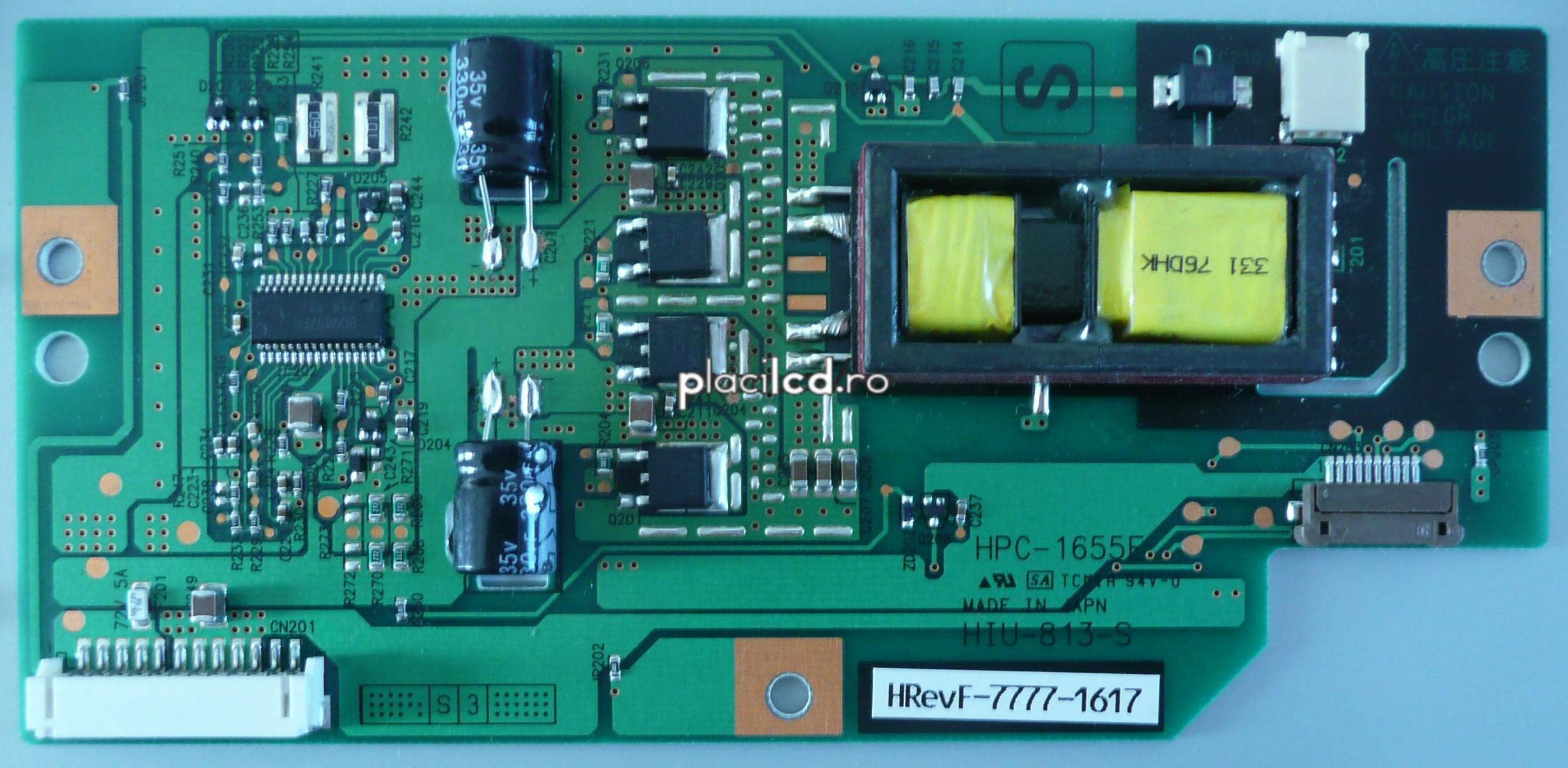 Placa invertoare HIU-813-S