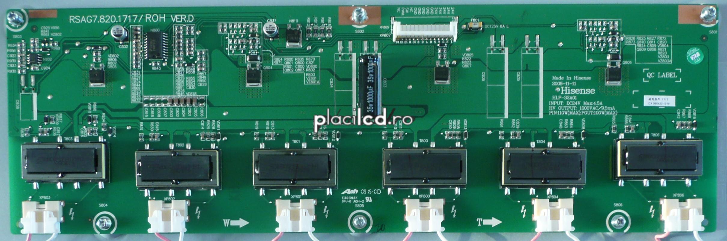 Placa invertoare HLP-32A01