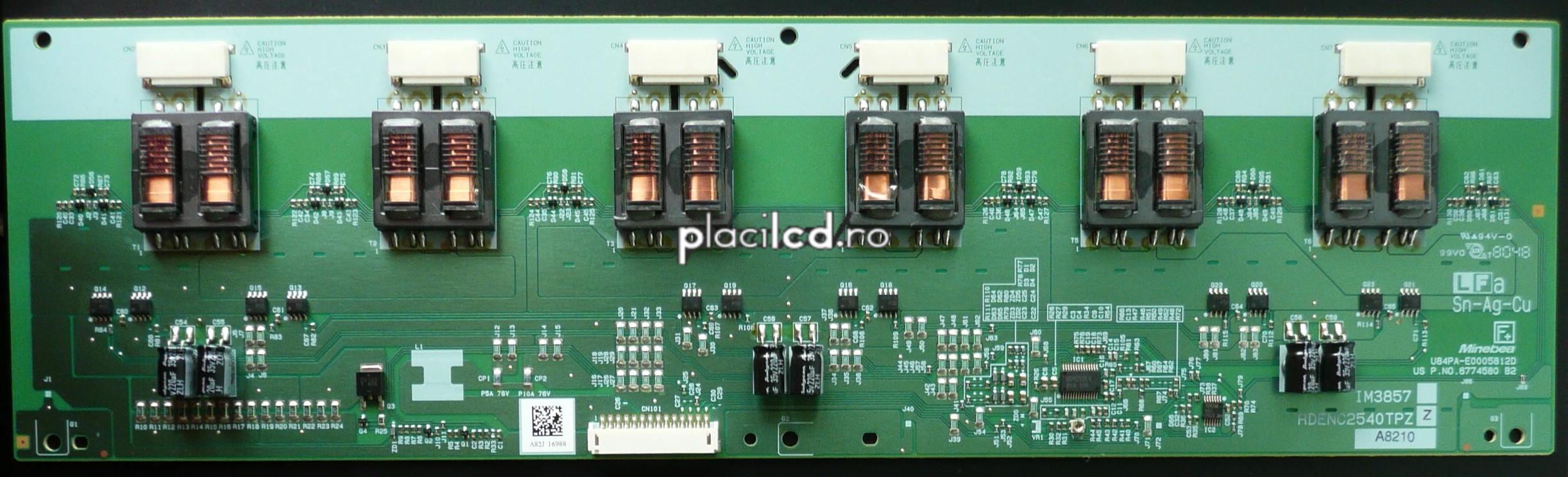 Placa invertoare RDENC2540TPZ