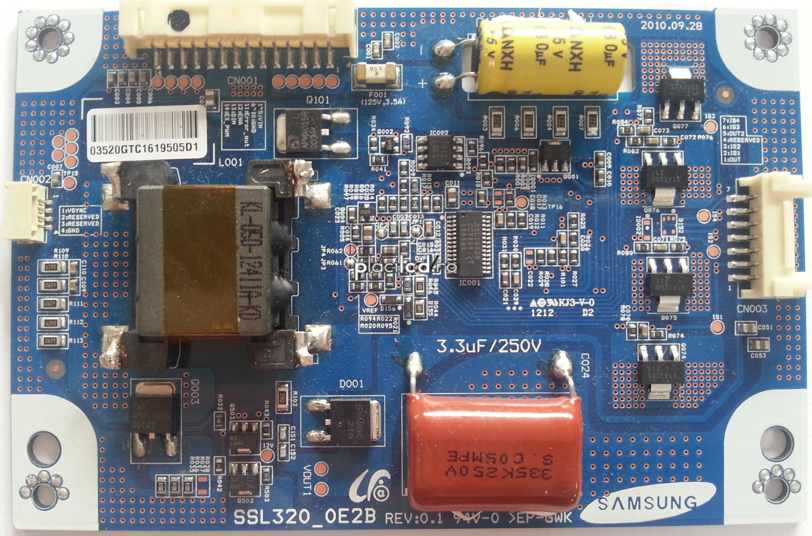 LED driver SSL320_0E2B