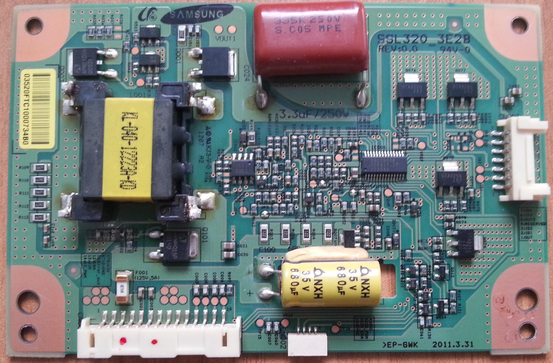LED driver SSL320_3E2B