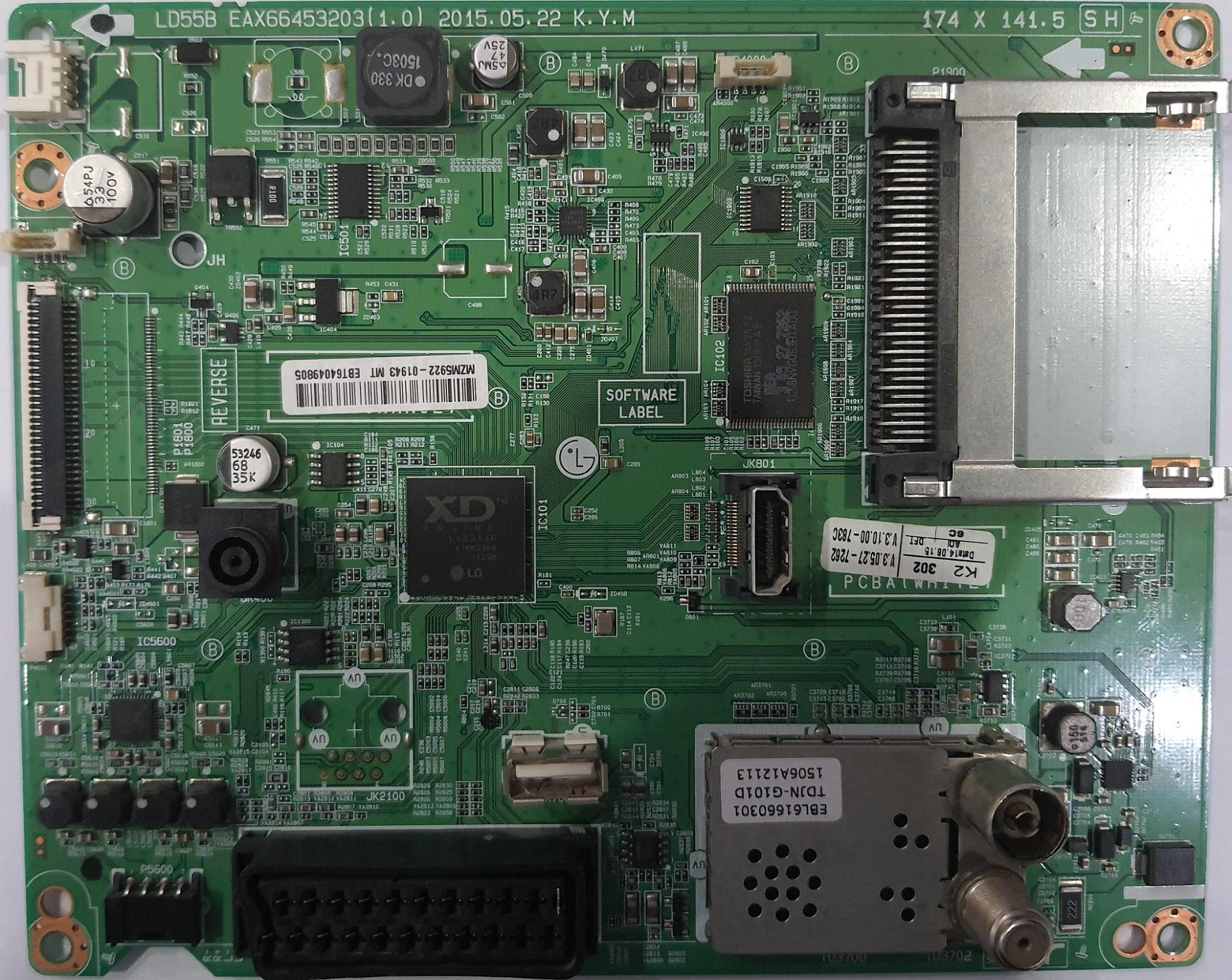 Placa de baza EAX66453203 (1.0)