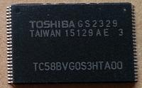 Memorii nand TC58BVG0S3HTA00