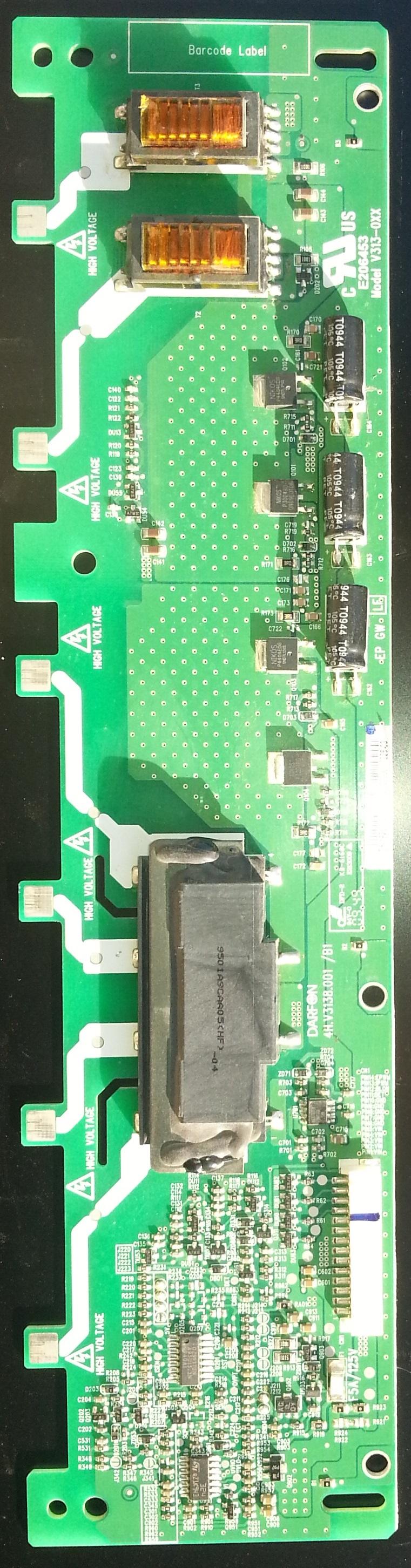 Placa invertoare 4H.V3138.001/B1