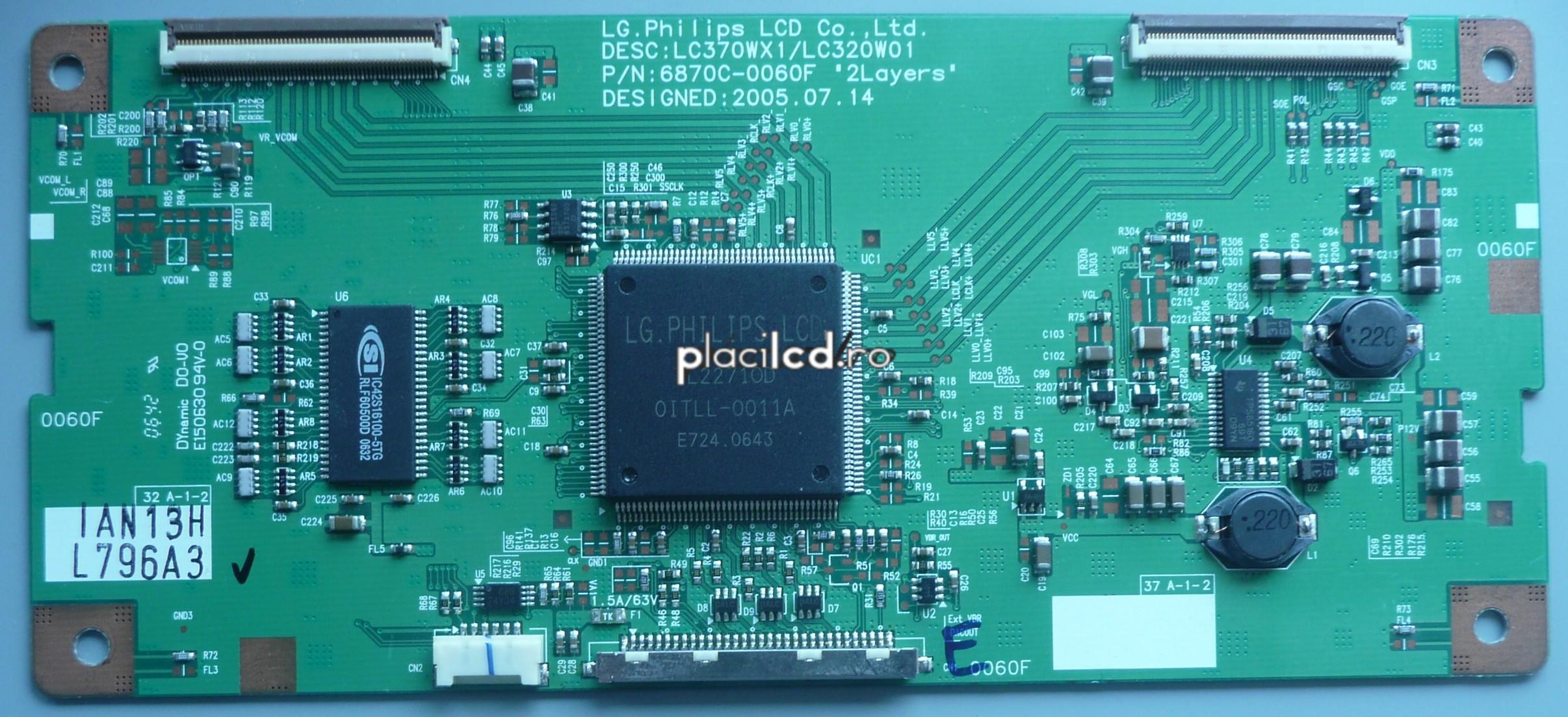 Placa LVDS 6870C-0060F